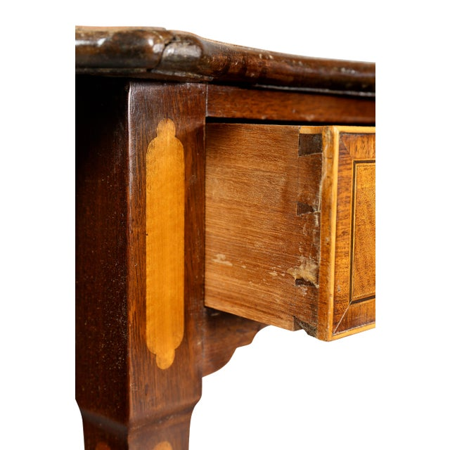 Late 18th Century George III Satinwood and Mahogany Pembroke Table For Sale - Image 5 of 10