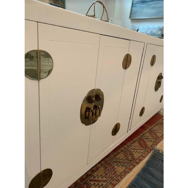 Mid-Century Modern 1960s Henredon Ming Console For Sale - Image 12 of 13
