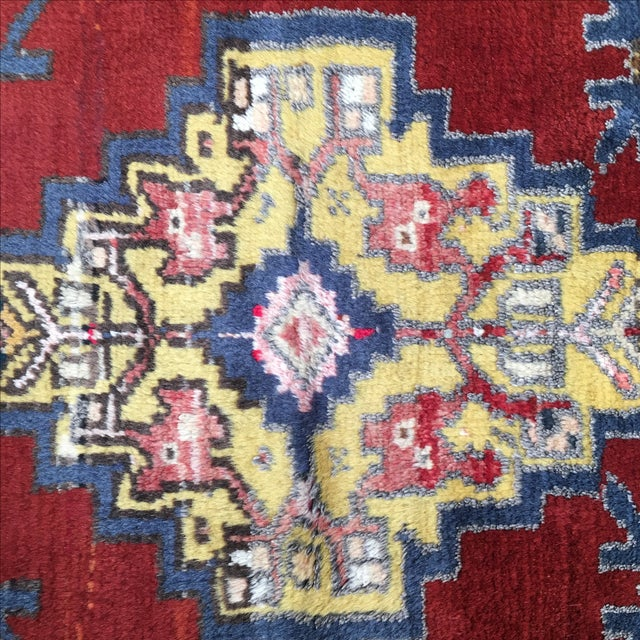 Vega Small Turkish Tribal Rug - 2′1″ × 3′2″ - Image 5 of 7