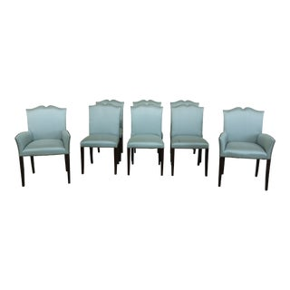 Set of 8 Ralph Lauren Modern Design Dining Room Chairs For Sale
