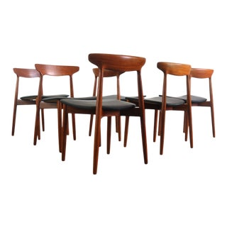 Teak Dining Chairs by Harry Ostergaard for Randers Møbelfabrik - Set of 6 For Sale