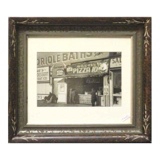 Original Photo of Coney Island Pizza Stand For Sale