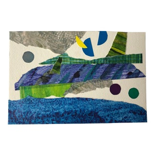 "Nancy Smith ""Landing Gear"" Original Collage For Sale"