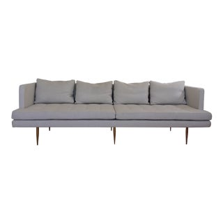 Edward Wormley Dunbar Style Siena Long Sofa For Sale