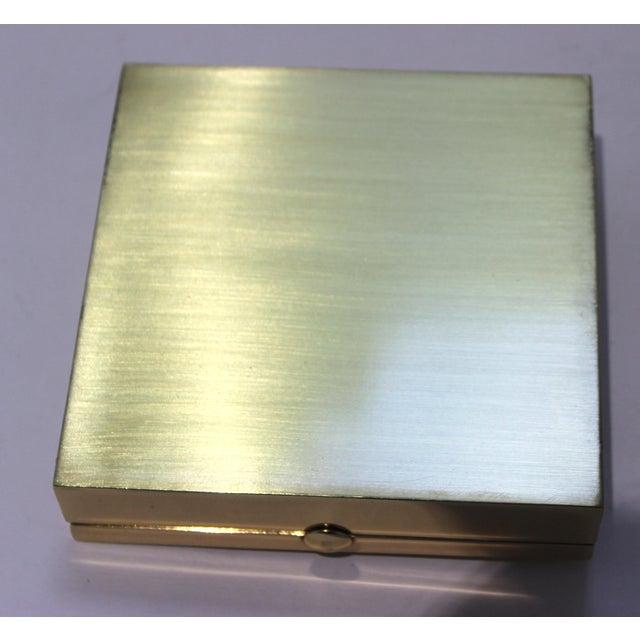 Vintage Vassilis Zoulias. Brass Box For Sale - Image 11 of 13