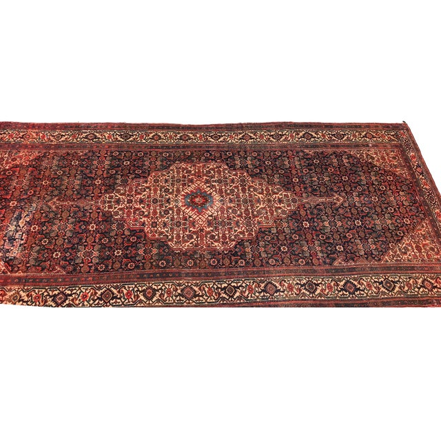 Textile 19th Fereghan / Saruk Palace Size Rug For Sale - Image 7 of 13