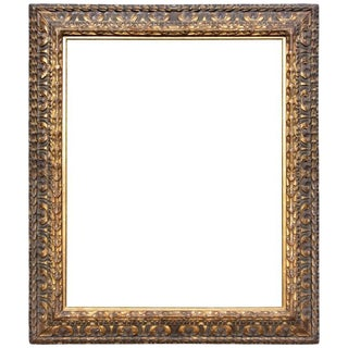 Antique Italian Baroque Cassetta Frame For Sale
