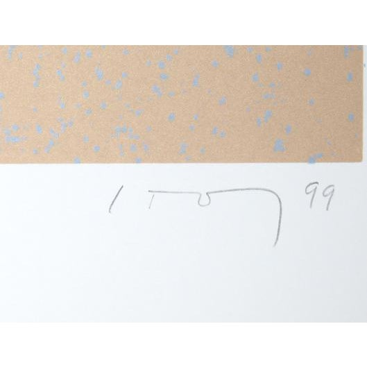 """Abstract """"Coronicon"""" 1999, Serigraph by David Storey For Sale - Image 3 of 5"""