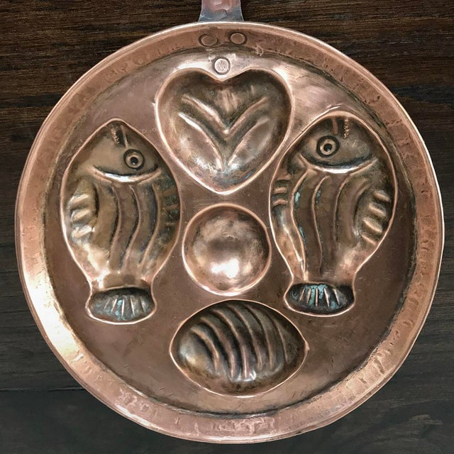 19th Century Copper Pan ~ Mold For Sale - Image 12 of 13