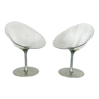 Philippe Starck for Kartell Eros Chairs - a Pair For Sale