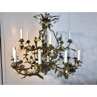 Napoleon III Bronze Floral Pagoda Chandelier, With 16 Lights Preview