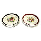 Image of Ironstone Dessert Plates, S/12 For Sale