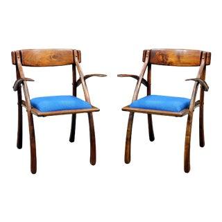 Wishbone Chairs by Arthur Espenet Carpenter - Pair For Sale