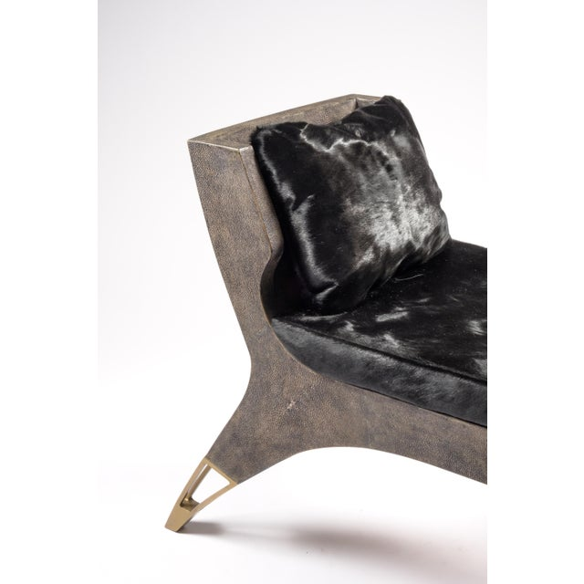 """The Lord bench is an invitation to as the French would say, """"rêveries"""". The dark shagreen adds as touch of drama. The..."""