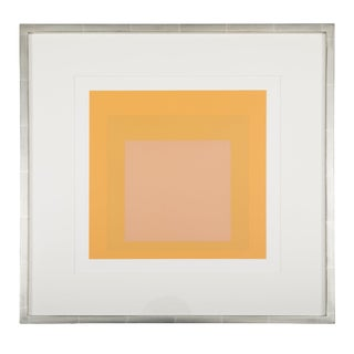 Josef Albers Homage to the Square From Formations: Articulation Print For Sale