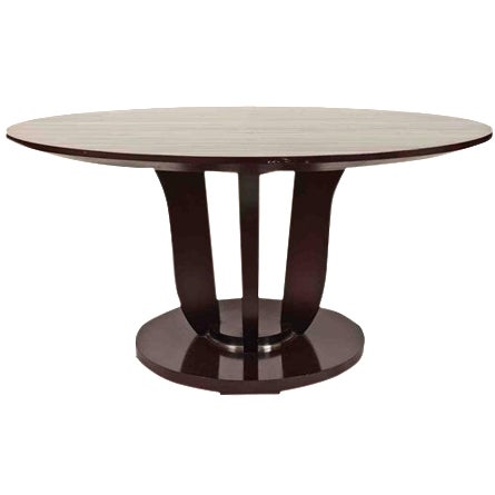 Barbara Barry Round Fluted Dining Table - Image 1 of 9