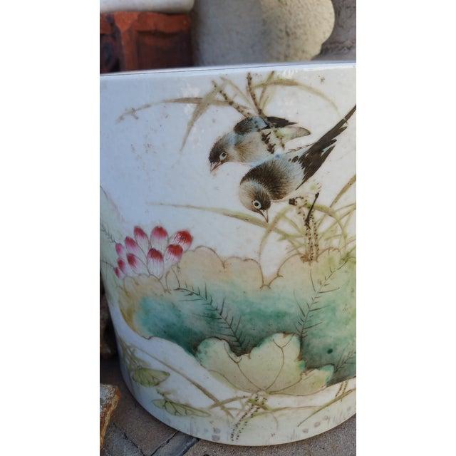 Vintage Chinese Bird Jardinaire - Image 3 of 5
