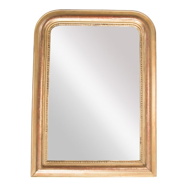 19th Century French Louis Philippe Gilt Mirror For Sale