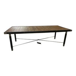 Contemporary Palecek Remington Coffee Table For Sale