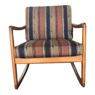 Ole Wanscher Mid-Century Rocking Chair