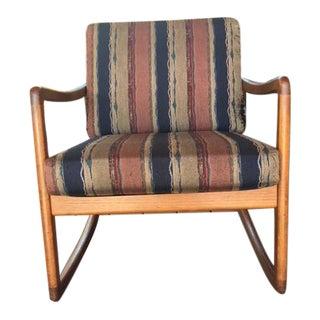 Ole Wanscher Mid-Century Rocking Chair