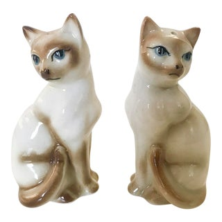 1960s Cats Salt and Pepper Shaker - a Pair For Sale