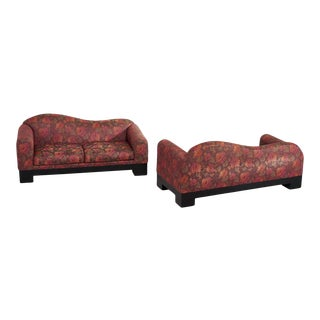 Postmodern Sofas by Directional Furniture - a Pair For Sale