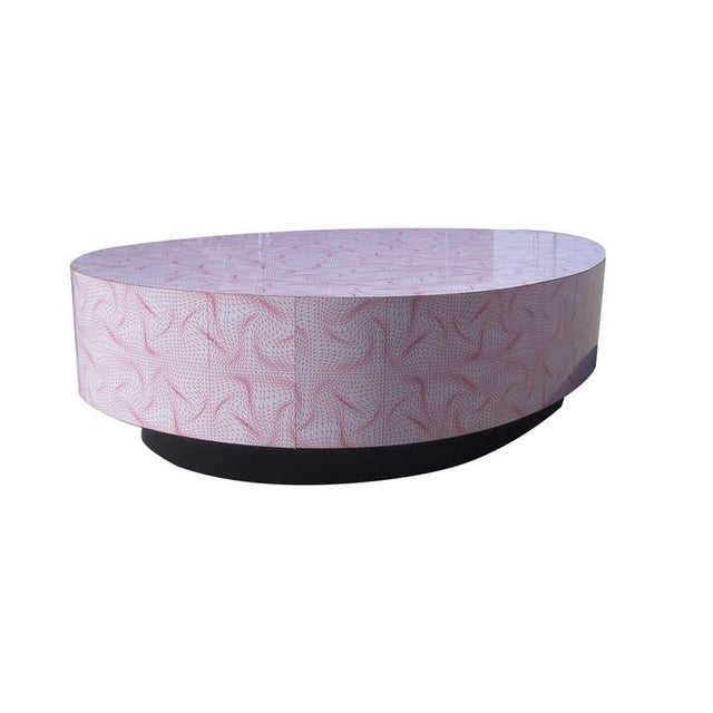 Large Egg-Shaped Coffee Table by Karim Rashid - Image 6 of 7