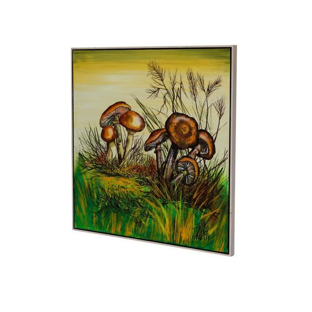 Cottage J. Walker Mushrooms Painting For Sale - Image 3 of 7