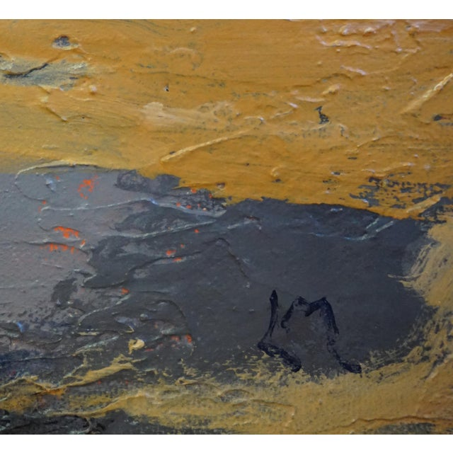"""2010s Laurie MacMillan """"Apparition"""" Abstract Painting For Sale - Image 5 of 5"""