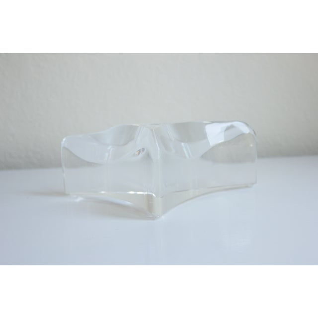 Sculptured Lucite Candleholder - Image 5 of 8