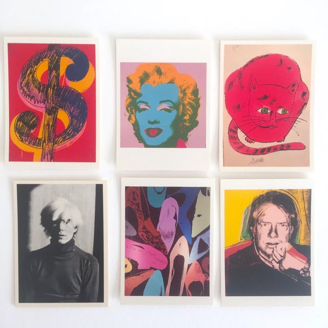 Andy Warhol Rare Vintage 1995 Pop Art Collector's Trading Cards - Set of 36 - Image 3 of 12