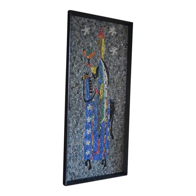 """Falconer"" California Modern Mosaic Panel For Sale"