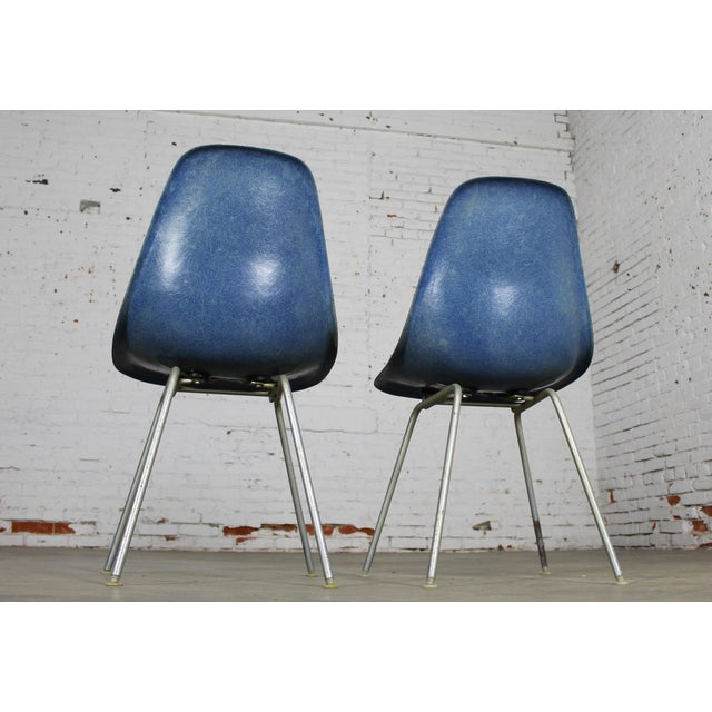 Vintage Herman Miller Eames Molded Fiberglass DSX Chairs - A Pair - Image 5 of 11