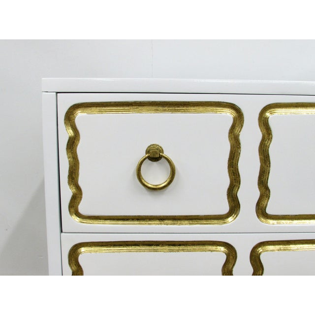 Metal Pair of Chests in the Manner of Dorothy Draper España Collection for Heritage For Sale - Image 7 of 12