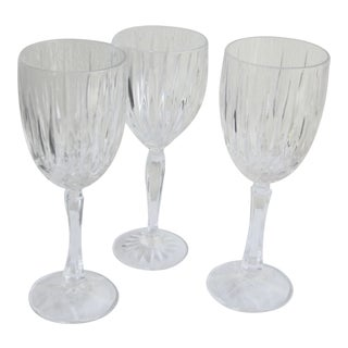 Final Markdown. Will Be Remove on Jan 31st.Mismatched Heavy High Quality Crystal Glasses - Set of 4 For Sale