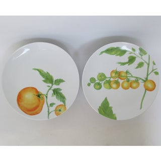 French Porcelain Salad Plates, 13 Pieces Preview