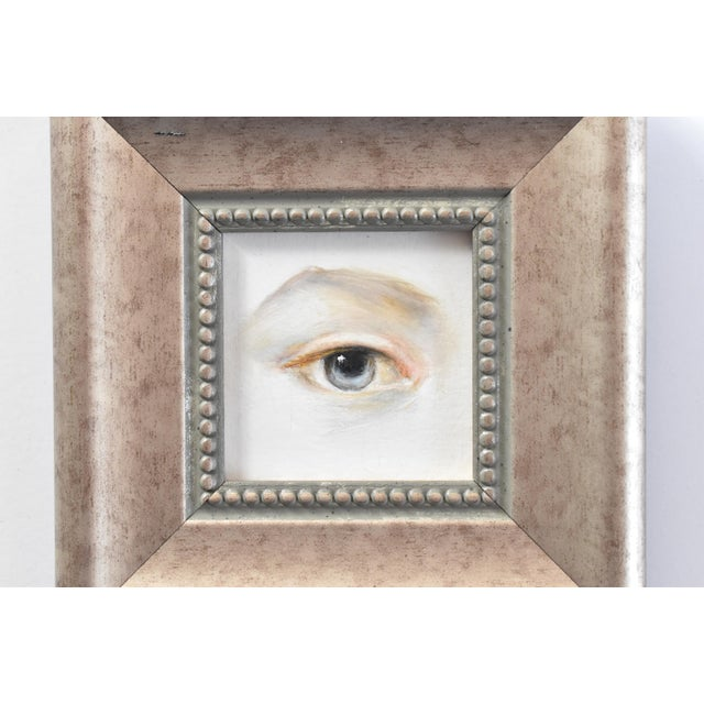 Contemporary Contemporary Lover's Eye Oil Painting by Susannah Carson For Sale - Image 3 of 5