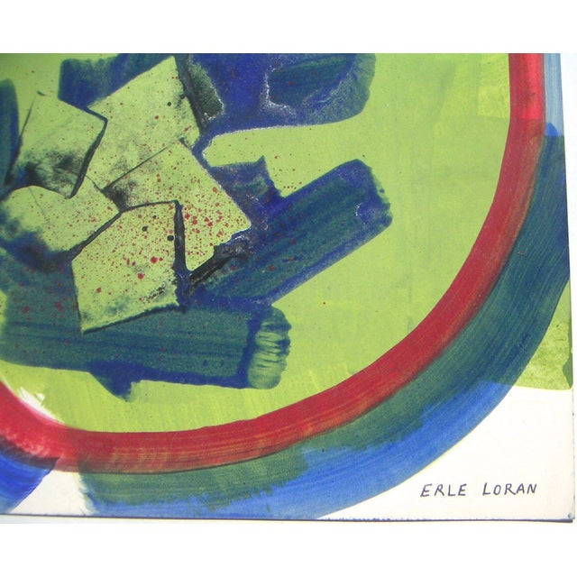 Original Abstract Painting by Erle Loran For Sale - Image 3 of 4