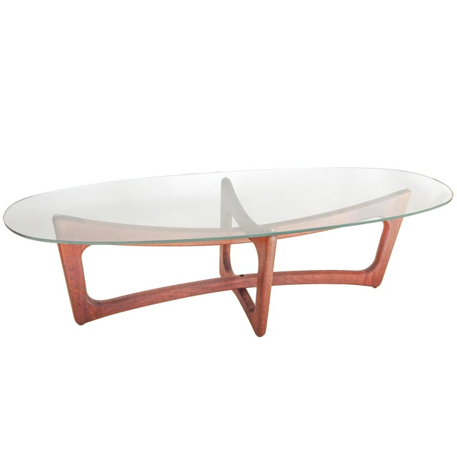 1960s Adrian Pearsall Coffee Table For Sale - Image 5 of 8