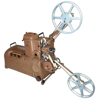Cinema Projector Fabulous Sculpture Display Movie Artifact Circa 1940's For Sale