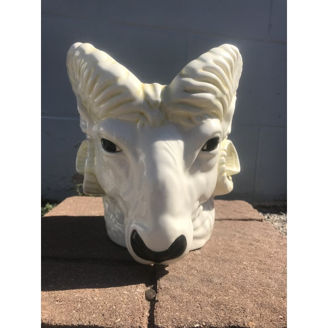 This is a fun retro ram's head planter. I absolutely love the funky look! Not super rare, but rare enough it's an exciting...