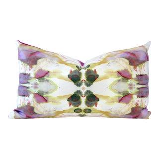 Designer Down Pink Lumbar Pillow For Sale