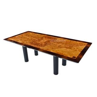 Oscar DellArredamento Italian Modern Burl Maple Dining Table by Miniforms Preview