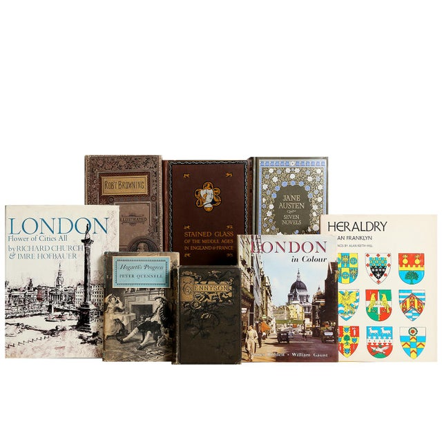 English Curated British Library Books - Set of 100 For Sale - Image 3 of 3