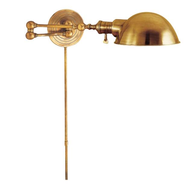 Visual Comfort Brass Wall Light - Image 1 of 3