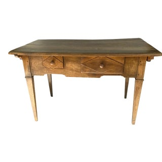 18th Century Walnut French Provincial Table For Sale