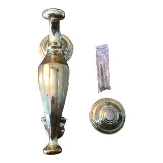 Traditional Brass Door Knocker For Sale