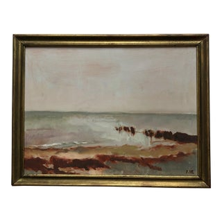 Impressionist Ingrid Wichmann Oil Painting For Sale