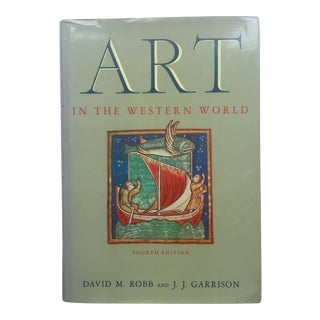 "Vintage ""Art In The Western World"" Art & Architecture Book For Sale"